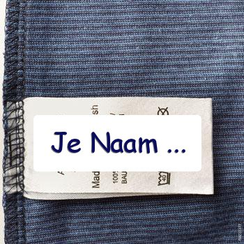 Verrassend Kledinglabels Textiel labels   Innaailabels - CottonTrends YP-42