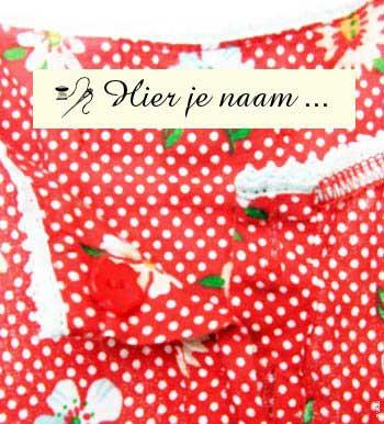 Verwonderend Kledinglabels Textiel labels   Innaailabels - CottonTrends NM-75