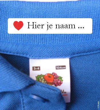 Welp Kledinglabels Textiel labels   Innaailabels - CottonTrends AY-77