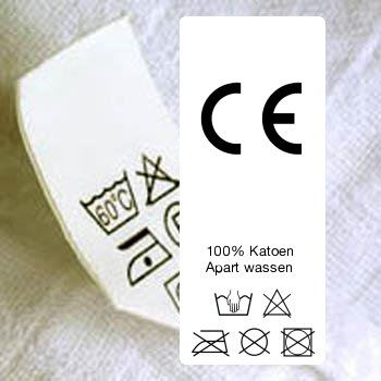 Onwijs Kledinglabels Textiel labels   Innaailabels - CottonTrends WX-82